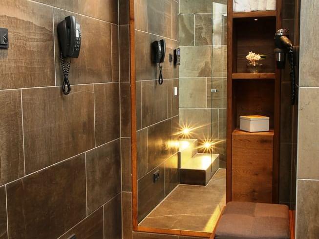Sauna im Hotel München Palace