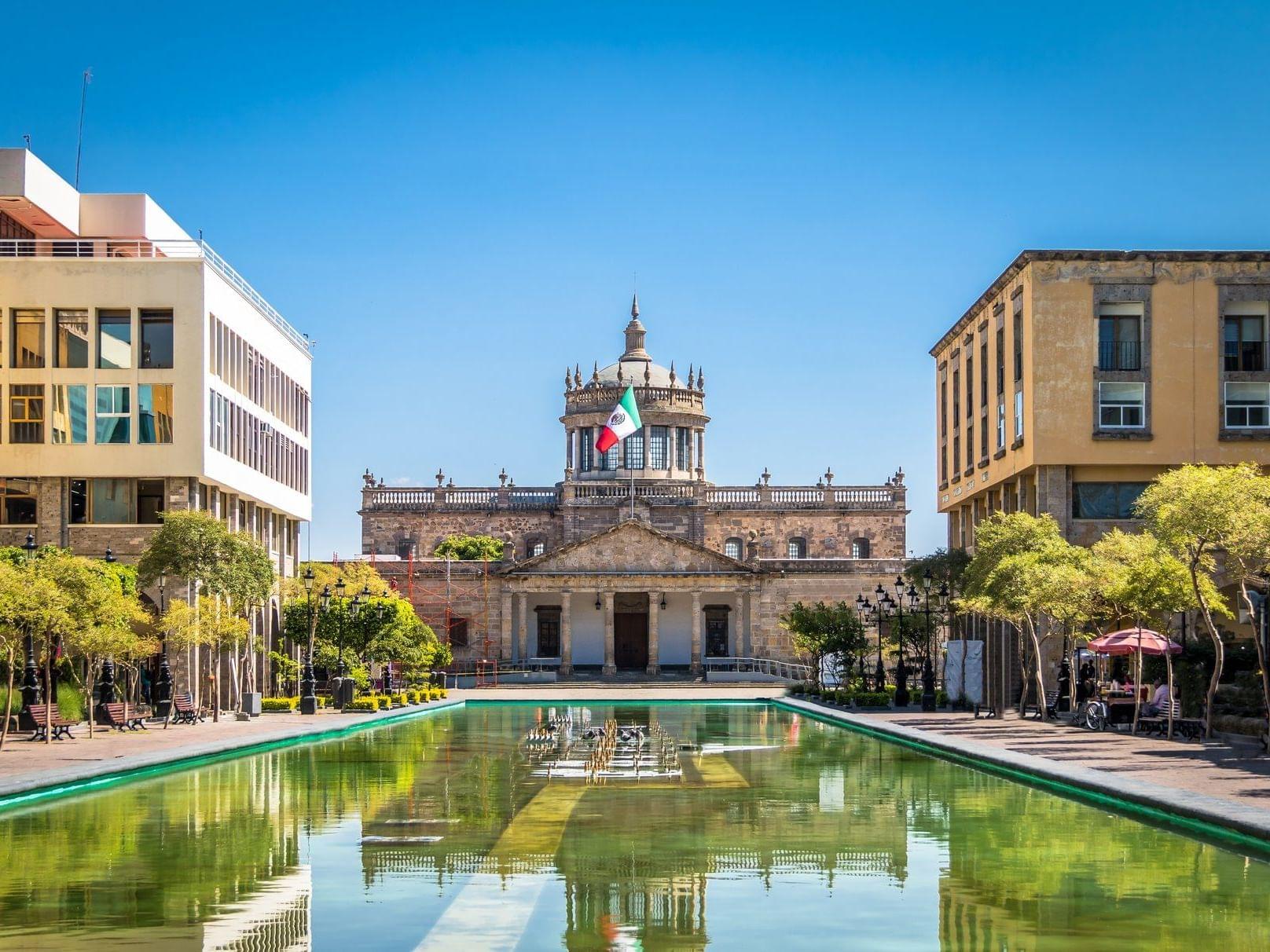 Hospicio Cabañas City Center in the Guadalajara city
