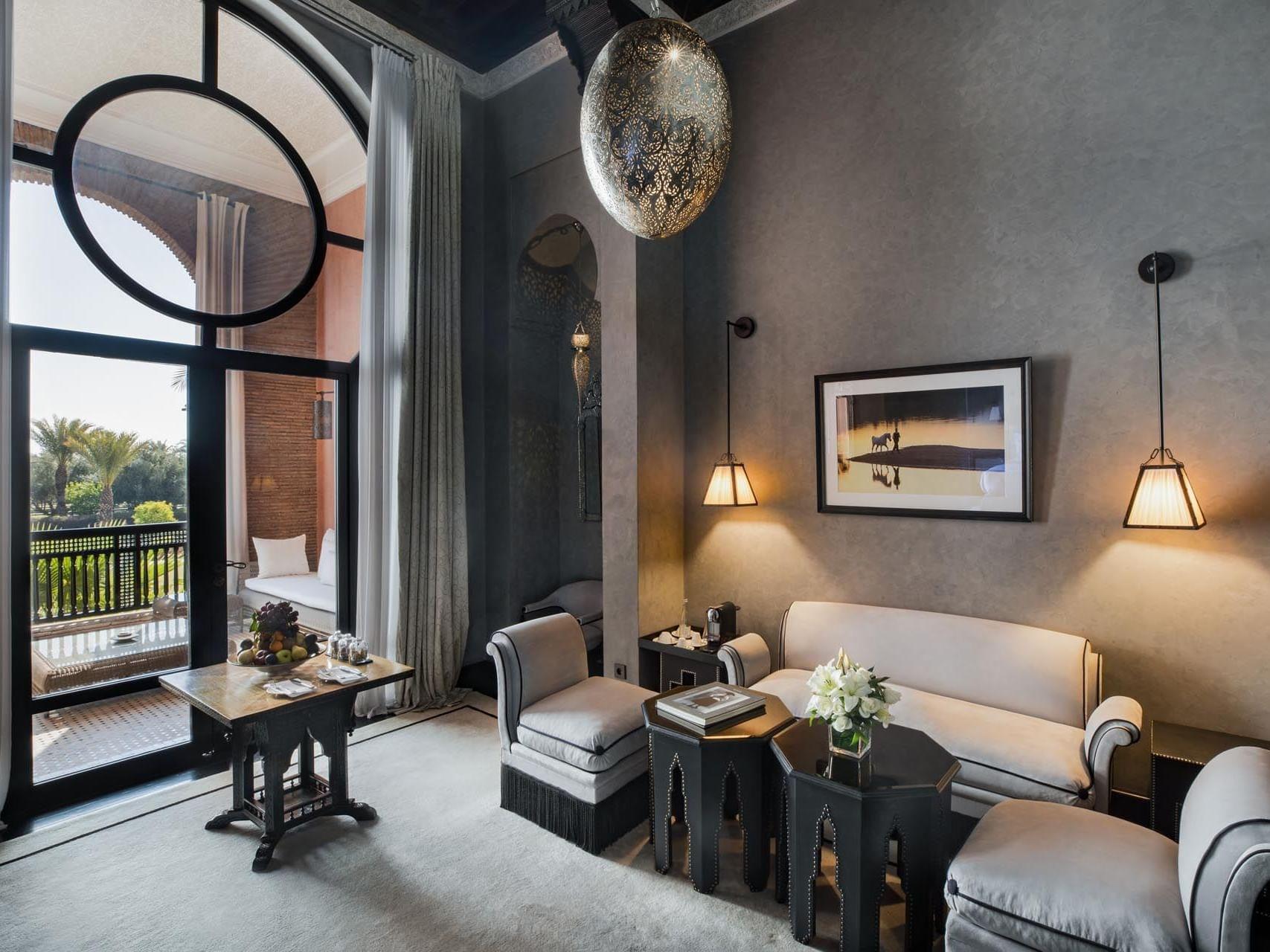 Suite at Selman Marrakech Hotel