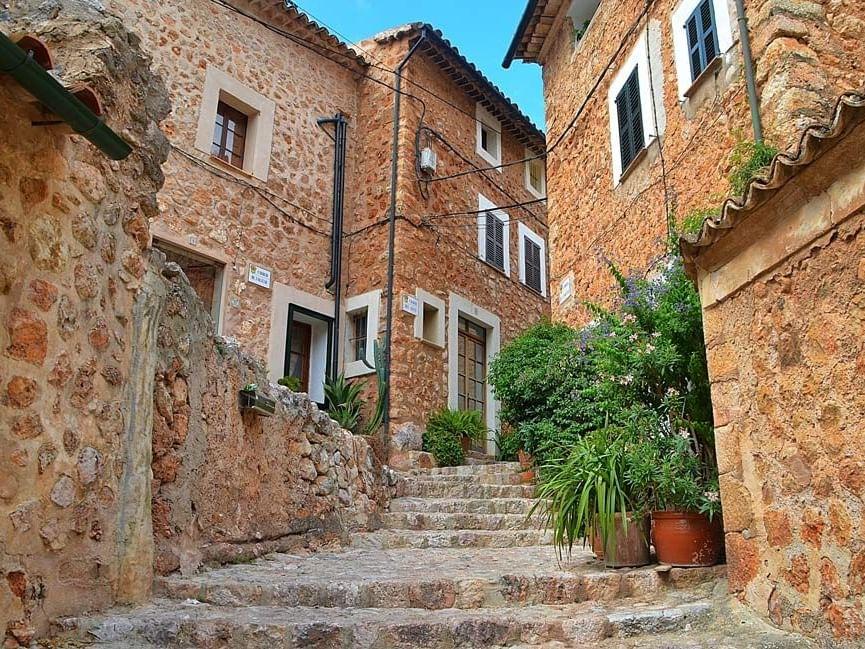 Die Ortschaft Fornalutx - Mallorca