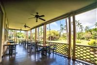 patio at Waimea Plantation Cottages