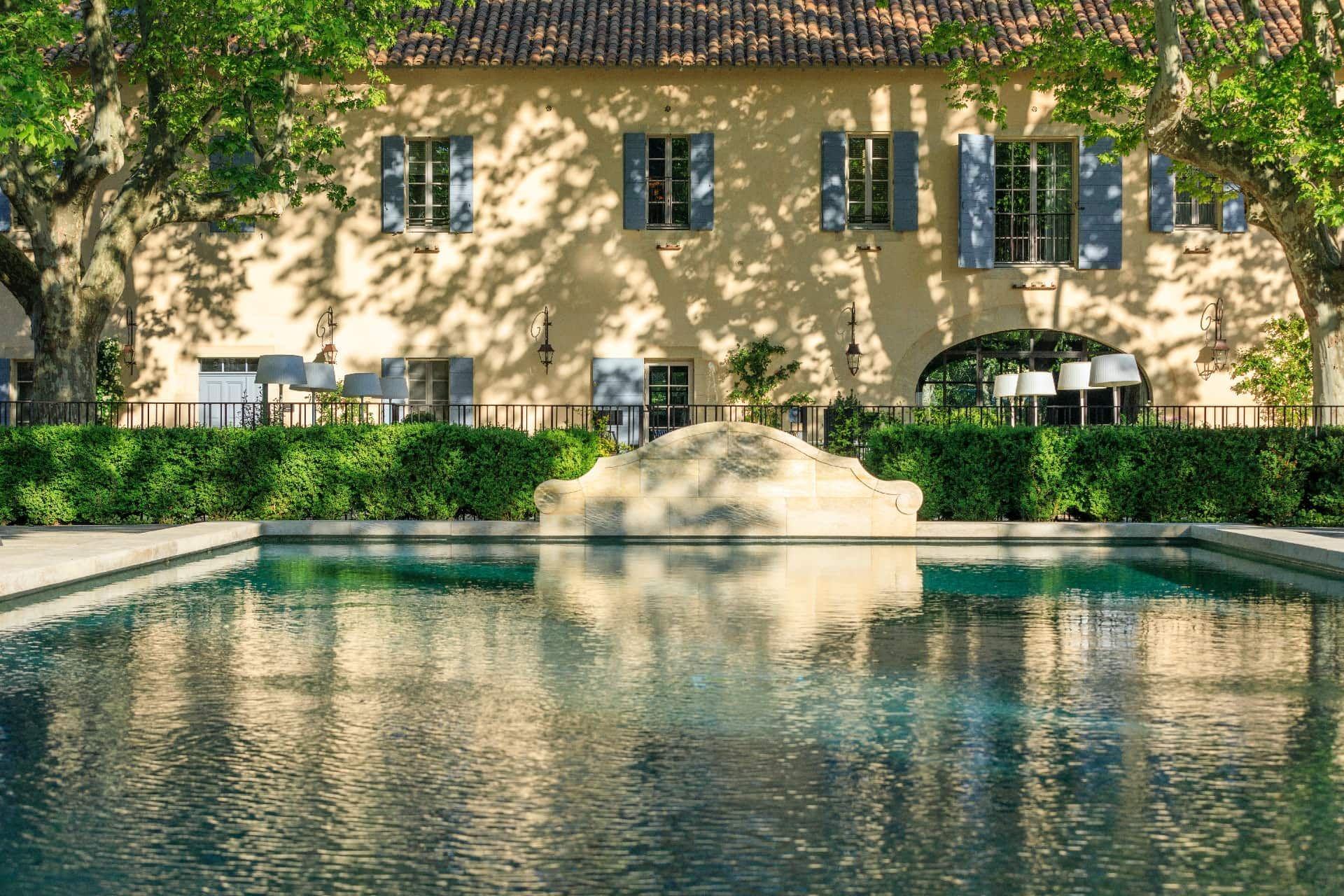 Exterior Pool View - Domaine De Manville