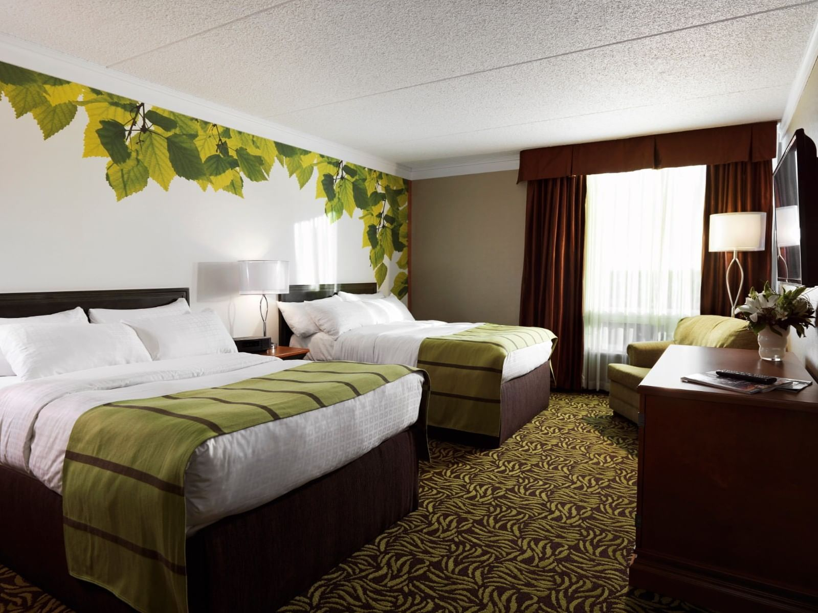 Deluxe Two Doubles Bedroom at Varscona Hotel on Whyte