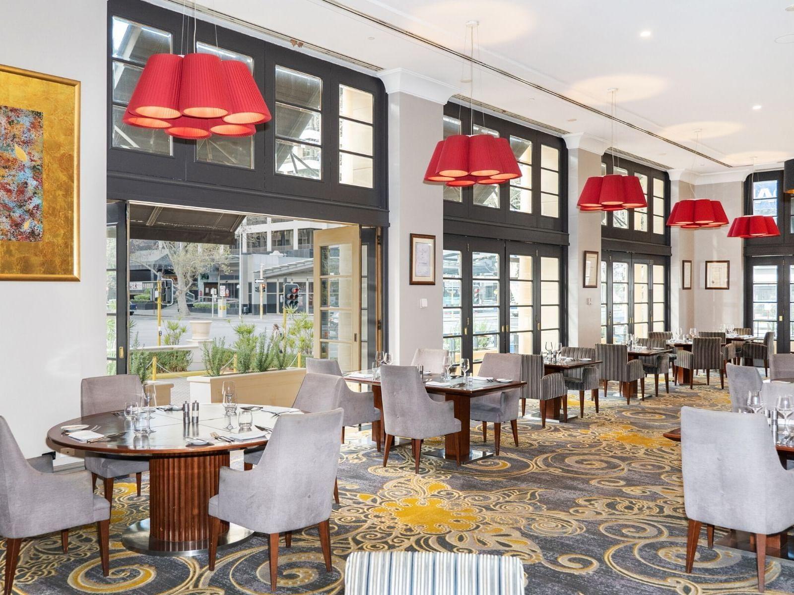 Buffet Breakfast Restaurant  at the Duxton Hotel Perth
