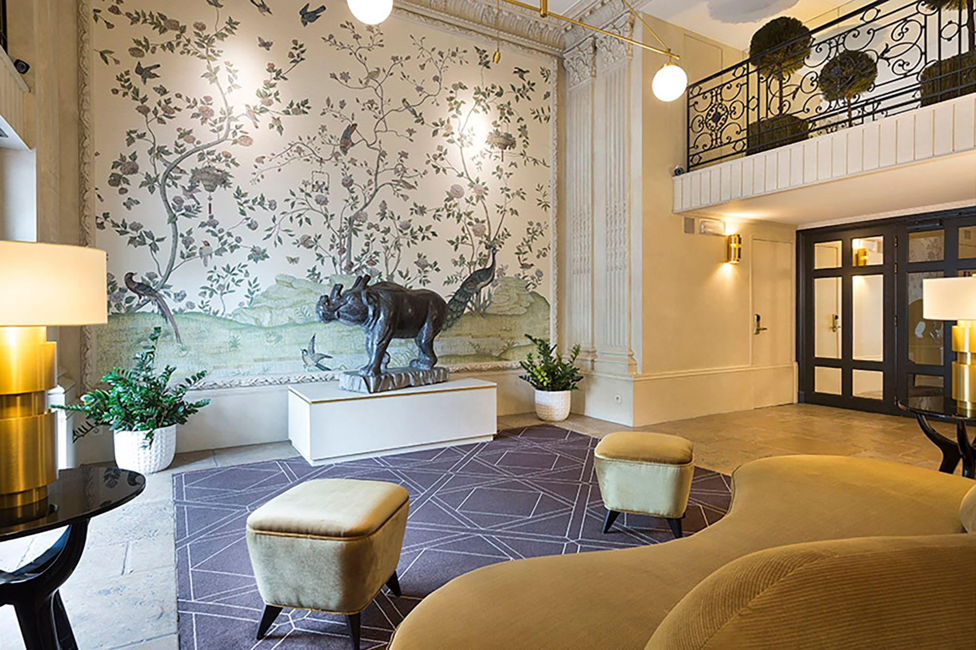 Entrance at Hotel Barsey by Warwick