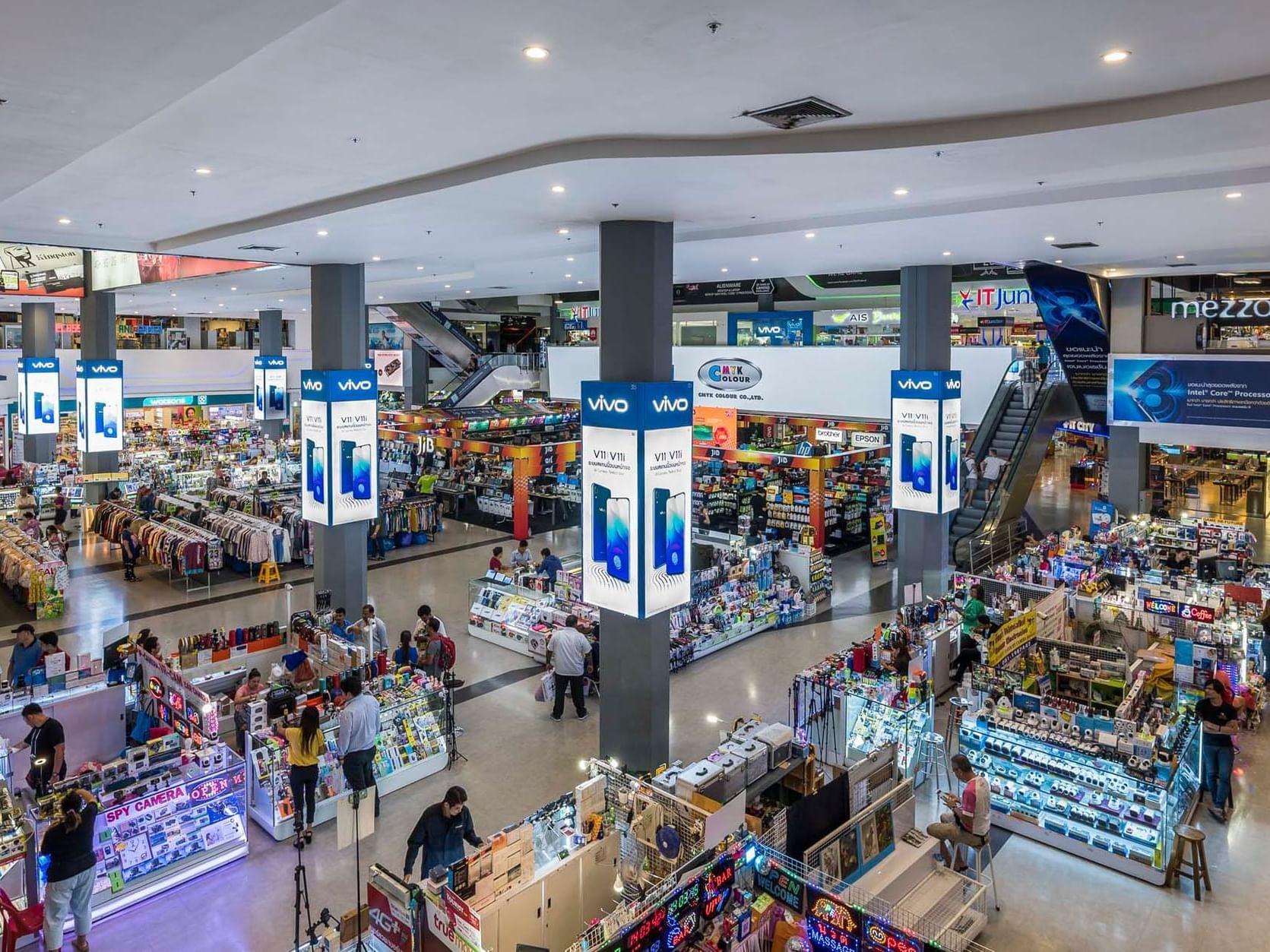 Pantip Plaza near Chatrium Hotel Riverside Bangkok