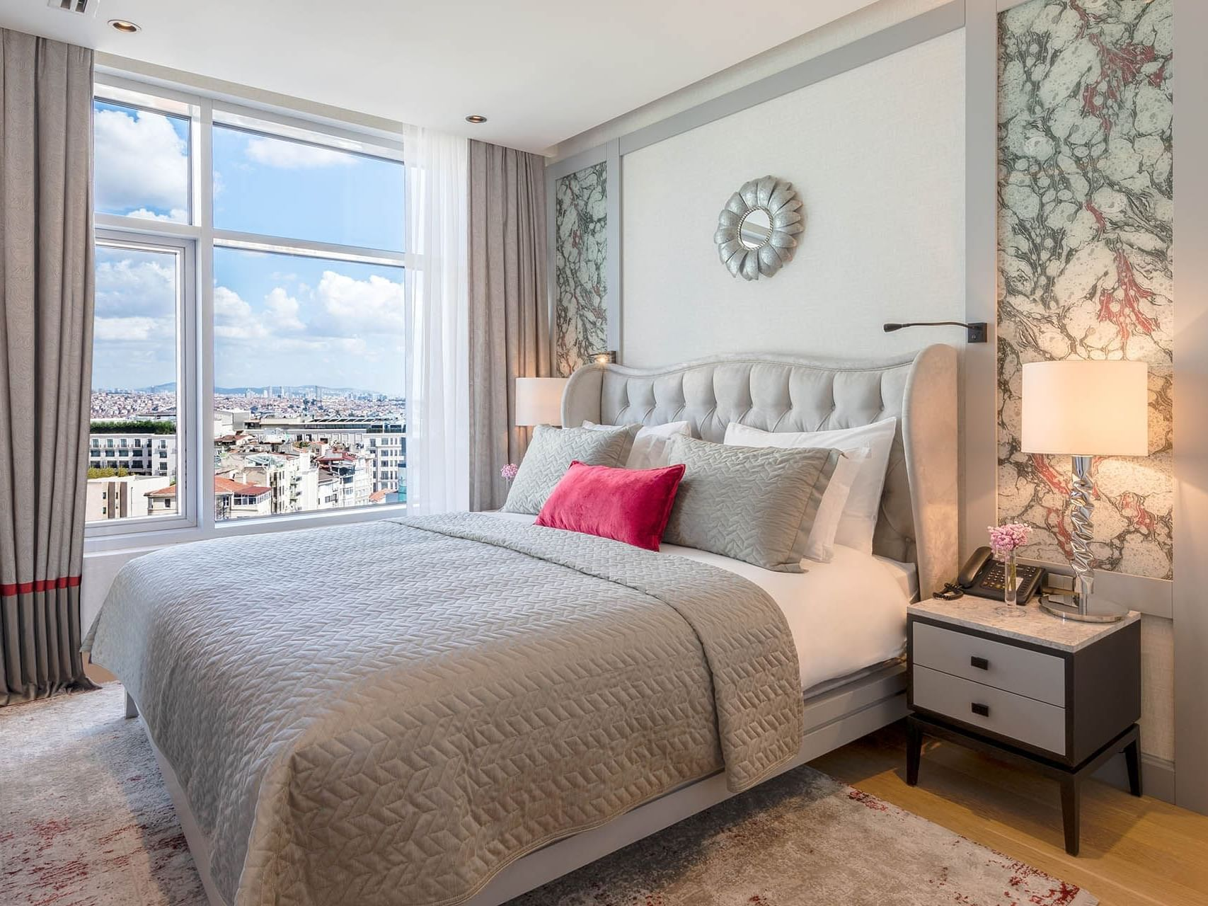 Taksim Suite with one bed at CVK Taksim Hotel Istanbul