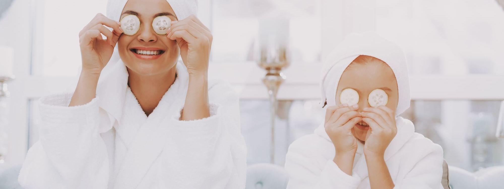Guests having facial treatments at Daydream Island Resort