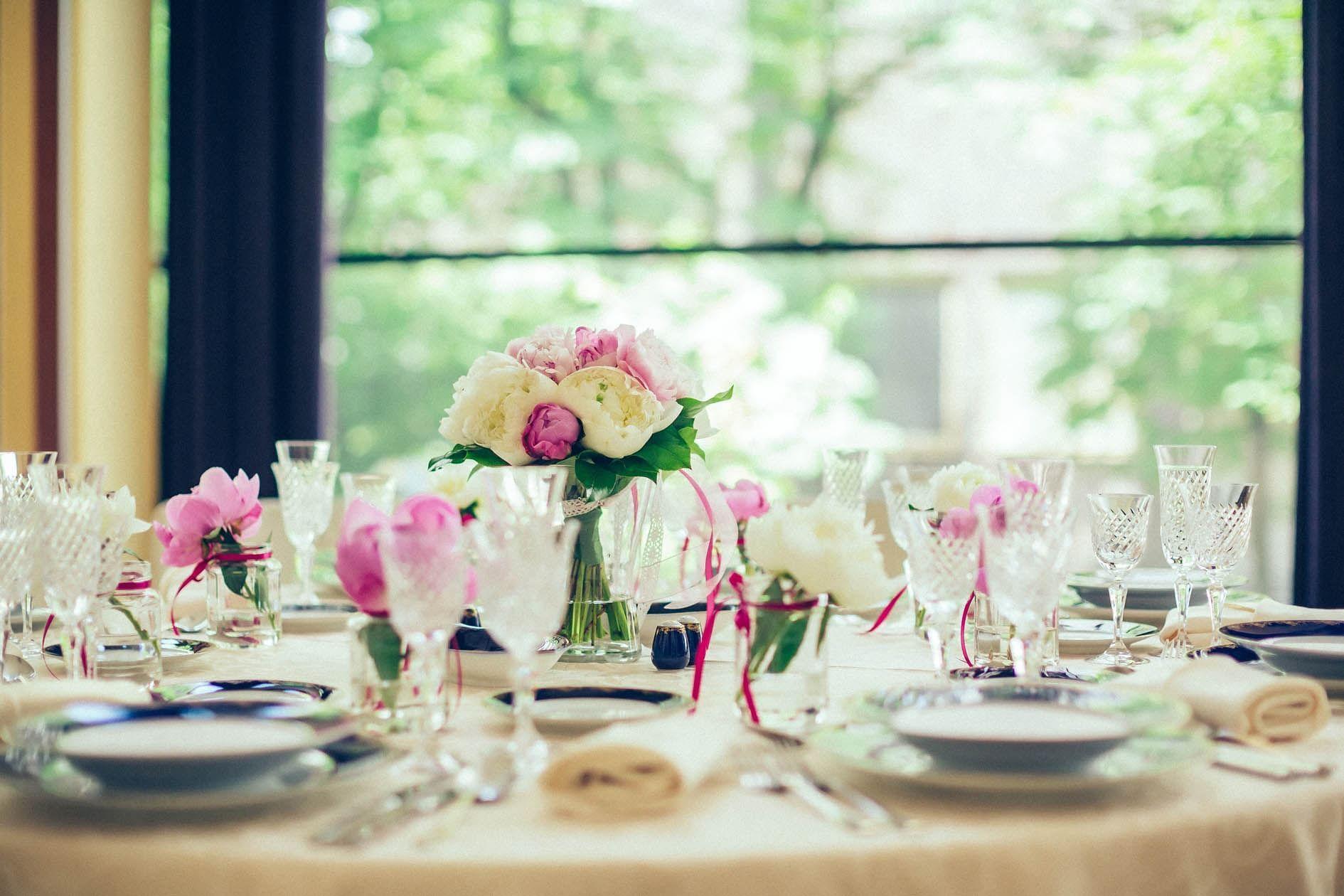 Wedding cutlery at Grand Hotel Union in Ljubljana