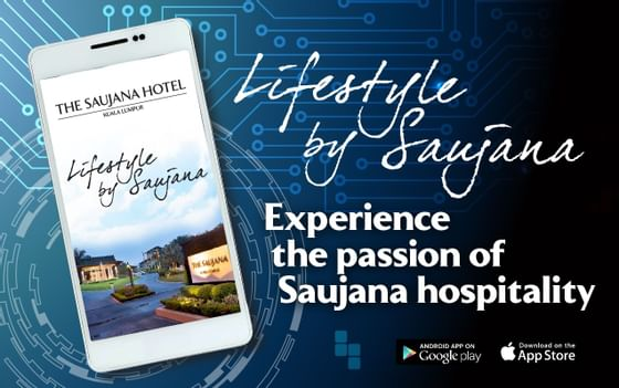 Hotel membership App of the Saujana Hotel Kuala Lumpur