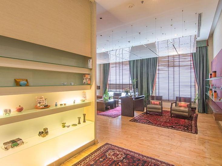 Green leaf spa and salon at Chatrium Residence Sathon Bangkok