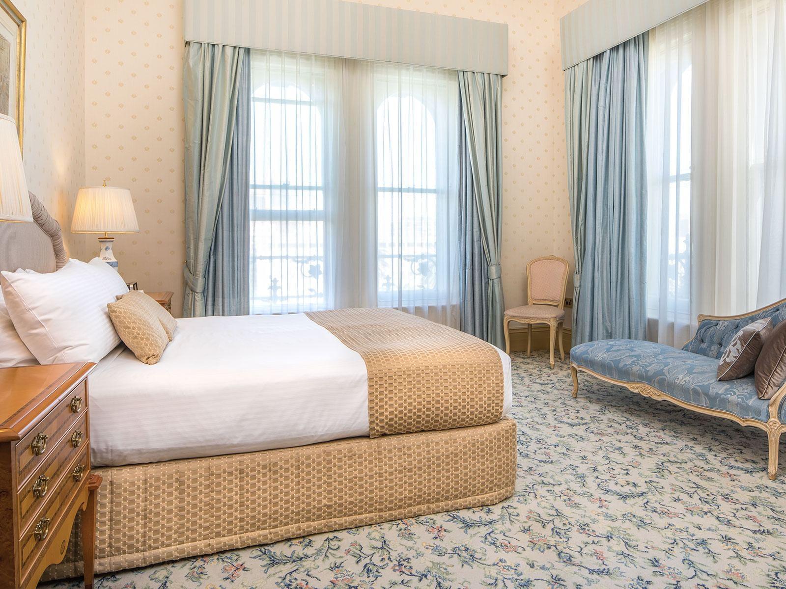 Royal Suite Bedroom at The Hotel Windsor Melbourne