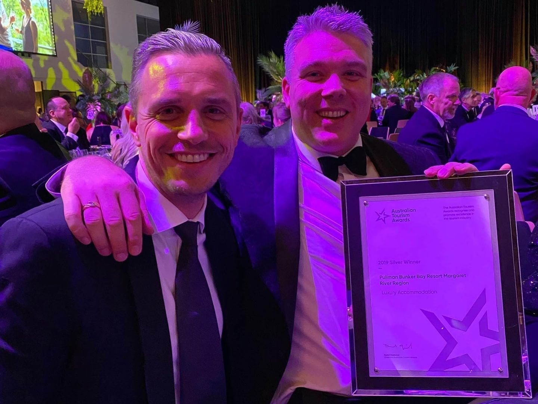 Wins Silver & Bronze Medals at Australian Tourism Awards at Pullman Bunker Bay Resort