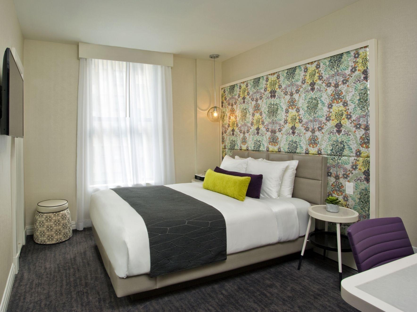 Bronze Queen Bedroom  at Dream Midtown NYC