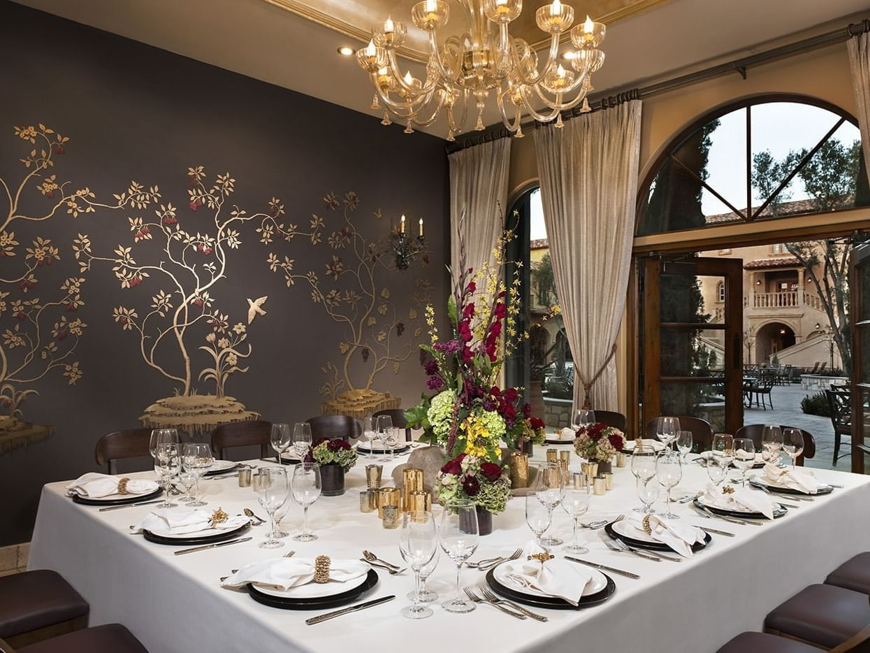 Murano private dining room