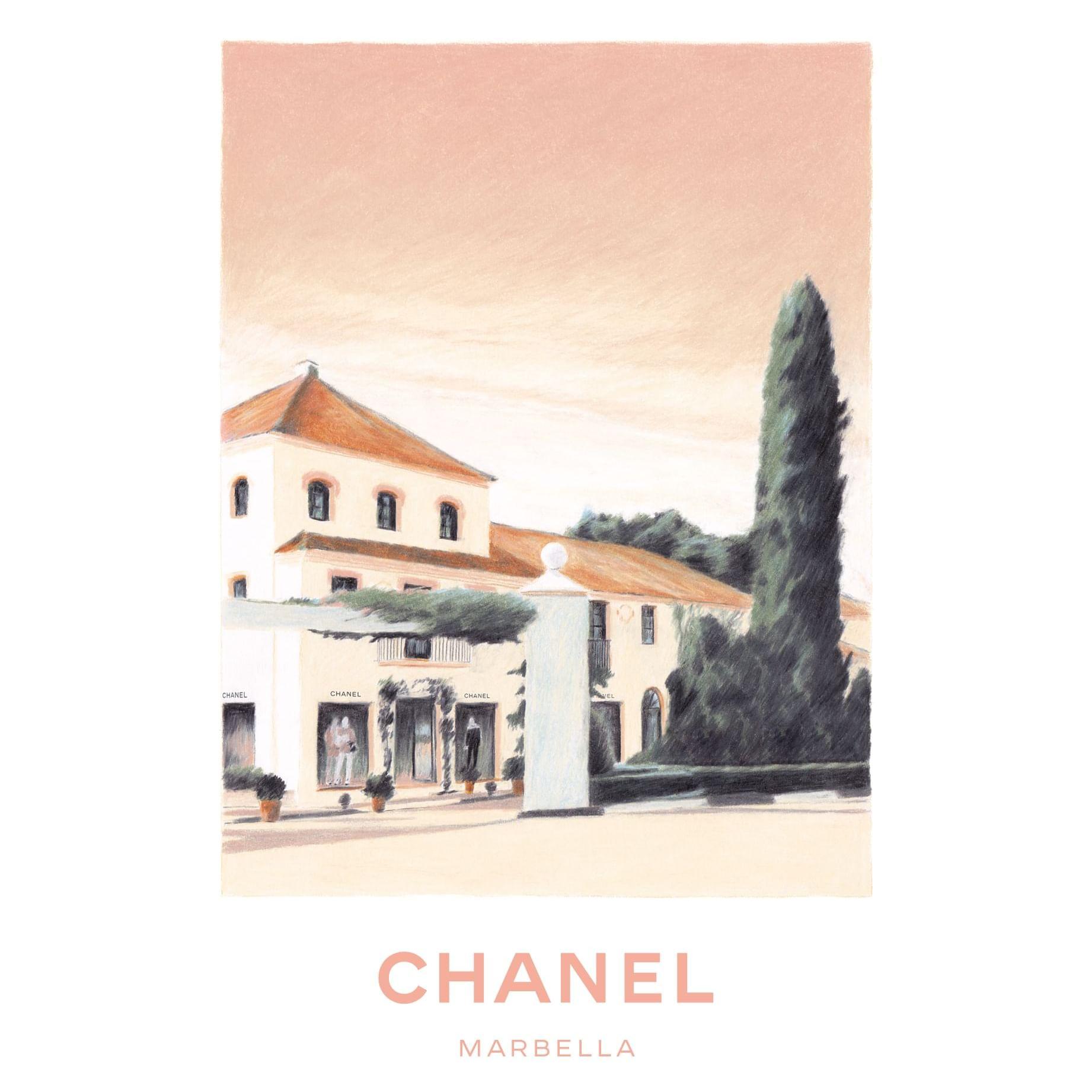 Chanel boutique at the Marbella Club Hotel