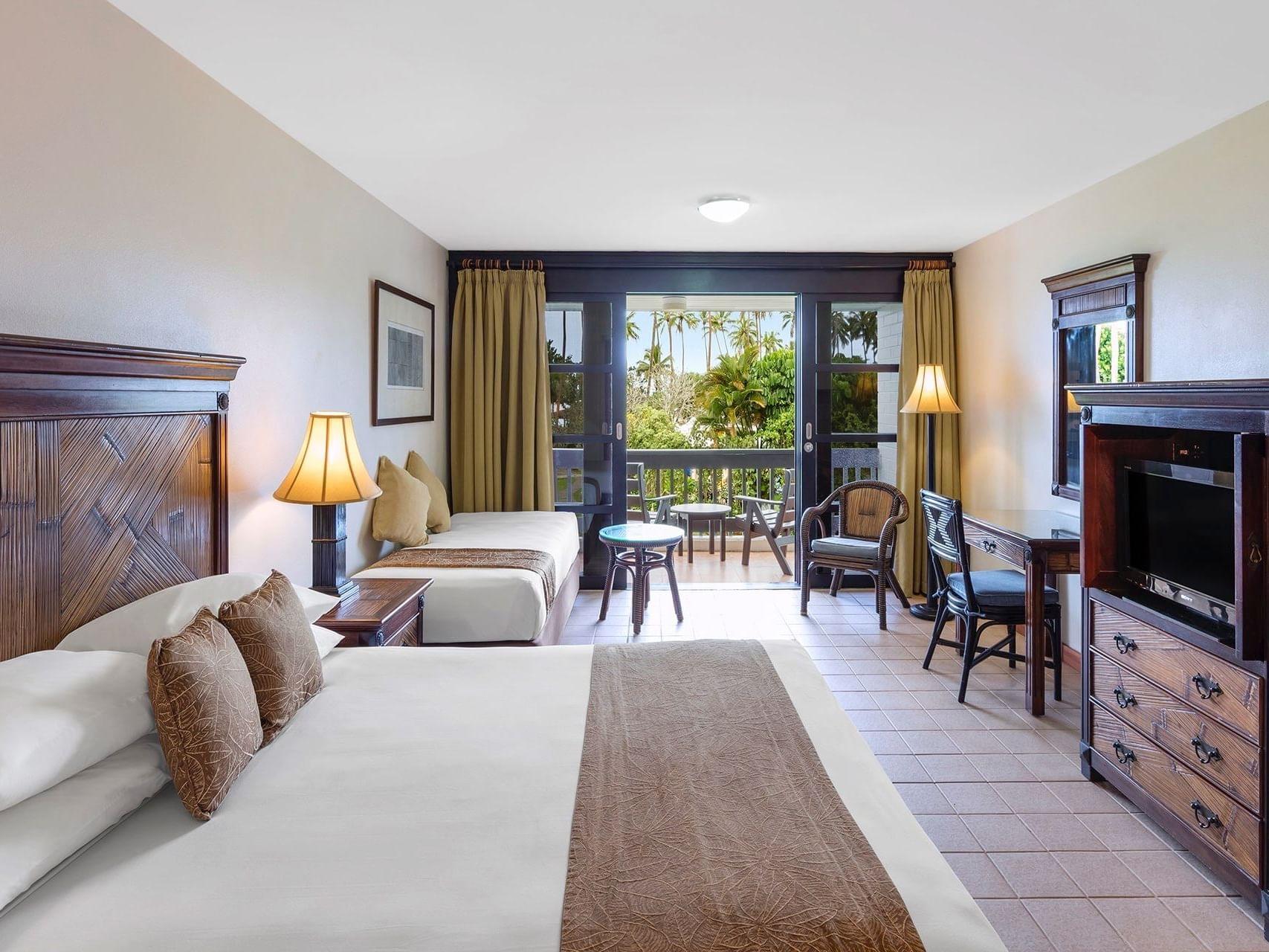 Family Superior Room Bedroom at Naviti Resort