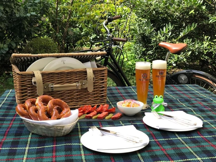 Picnic package at Hotel München Palace