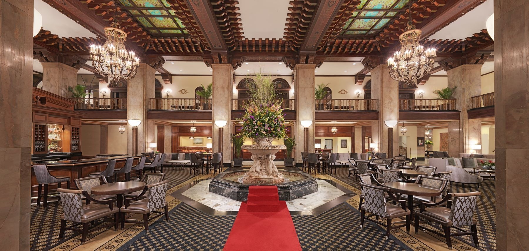The Grand Lobby at The Peabody Memphis