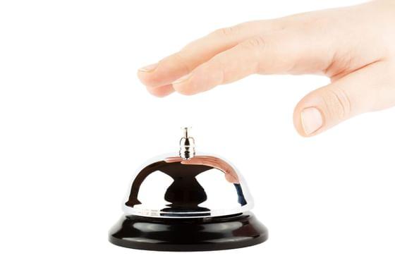 Ringing Bell at the Saujana Hotel Kuala Lumpur