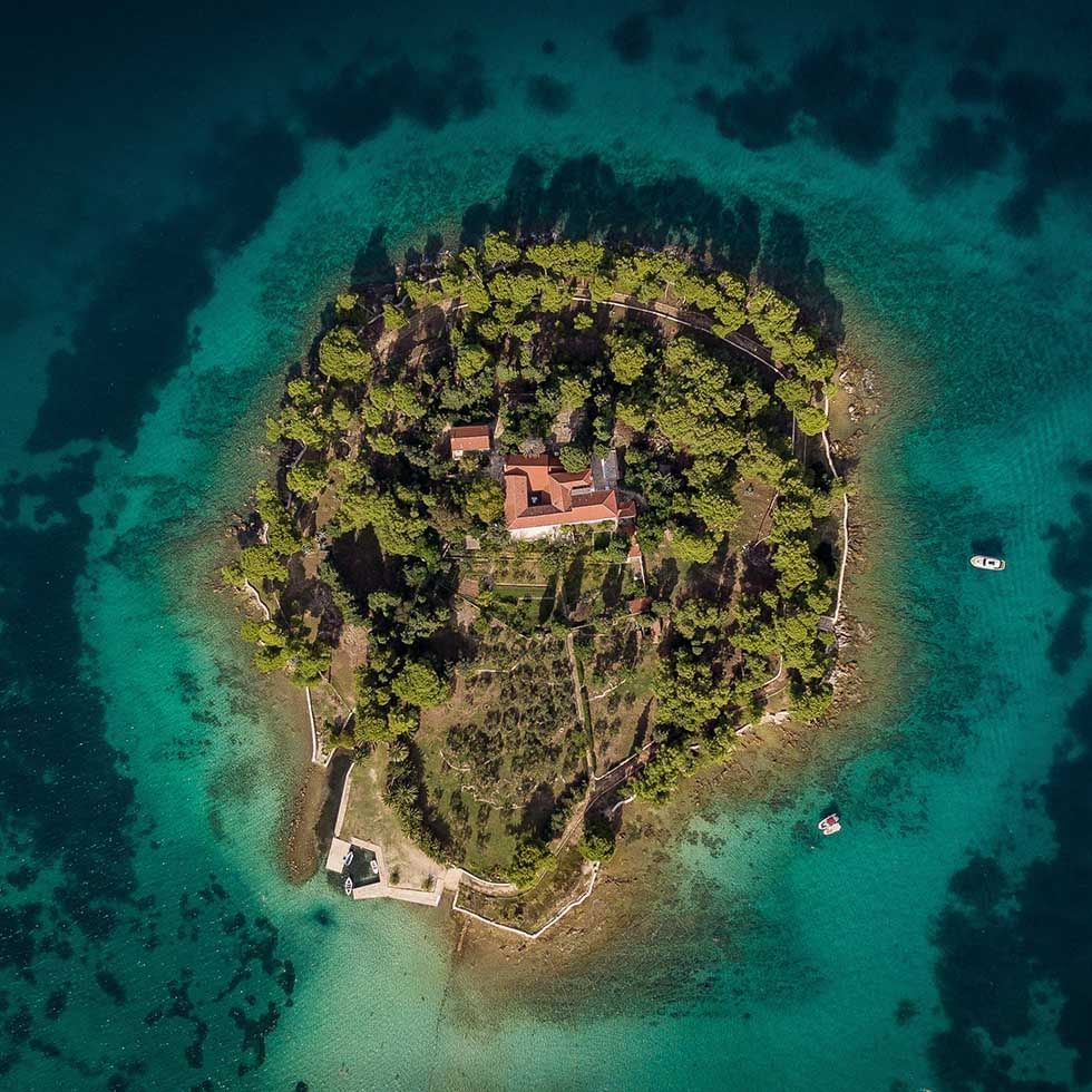 Kosljun Island Earth View near Falkensteiner Hotel Punat