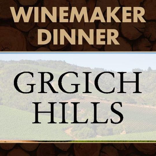Winemaker Dinner with Grgich Hills Logo
