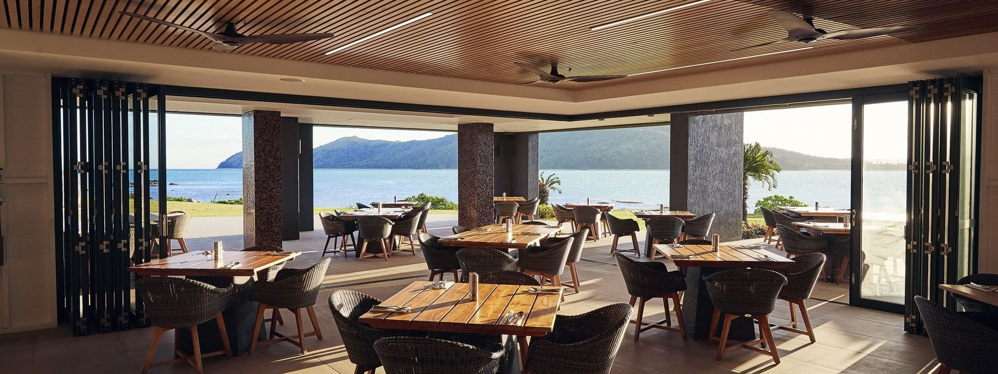 Dining area in Inkstone Kitchen & Bar at Daydream Island Resort
