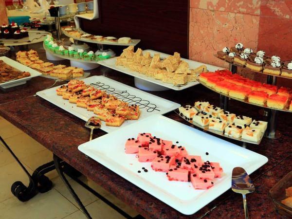 Sweet Treats At The Main Restaurant