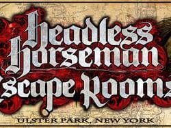 Logo for Headless Horseman Escape Rooms