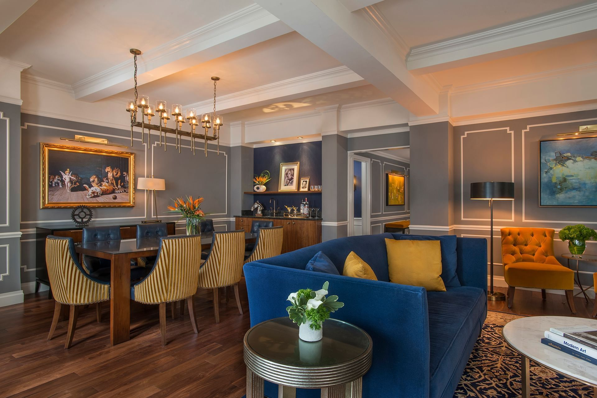 Randolph Suite Living Room at Warwick New York