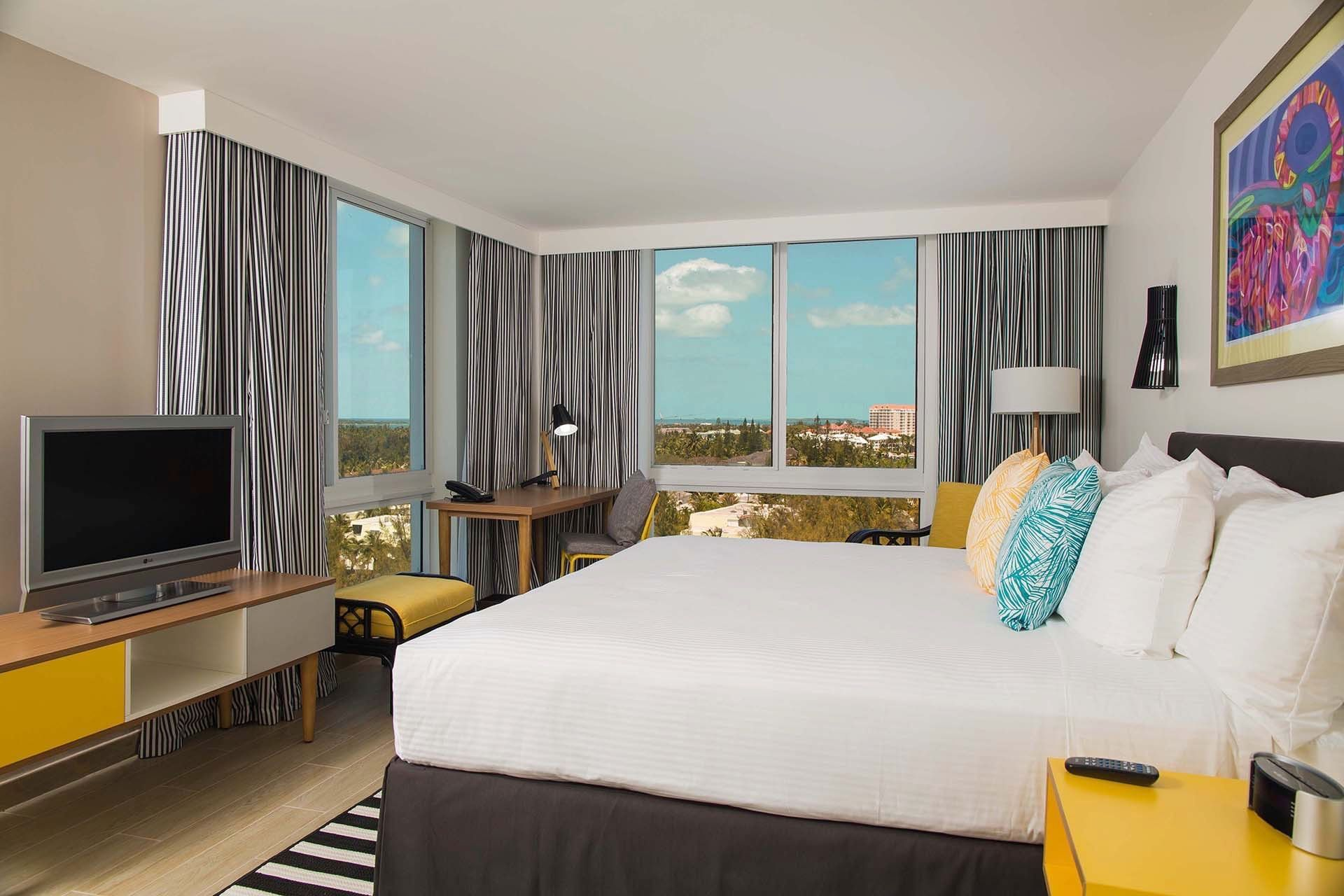 Water View King Bedded Room