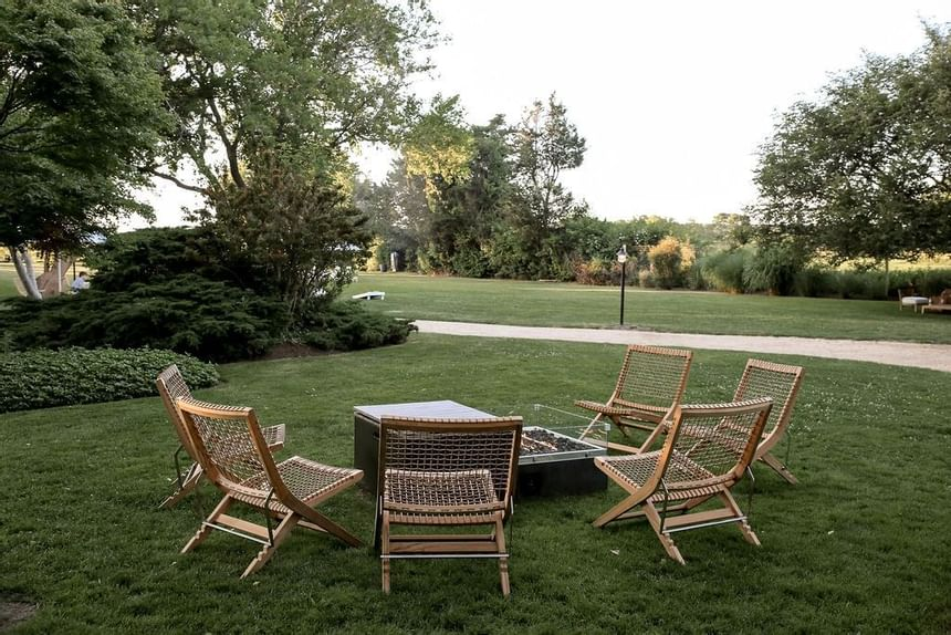 Outdoor Event Area with Tables and Chairs, The Roundtree, Amagan