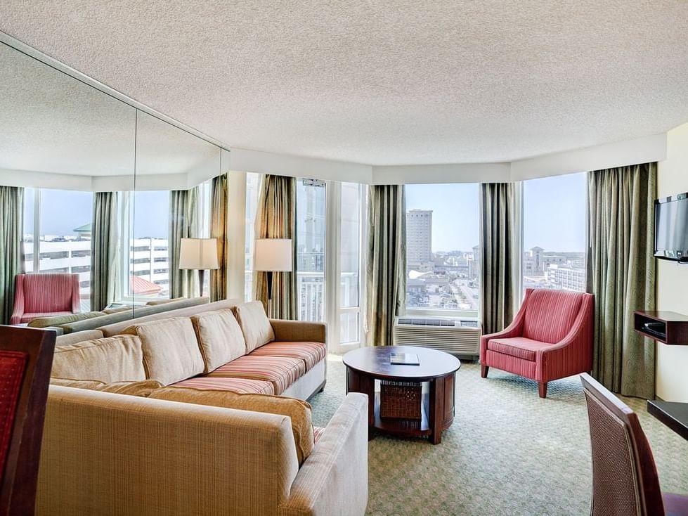City View one bedroom suite at Diamond Resorts Virginia Beach