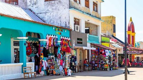 Cozumel island market place near The Reef Resorts