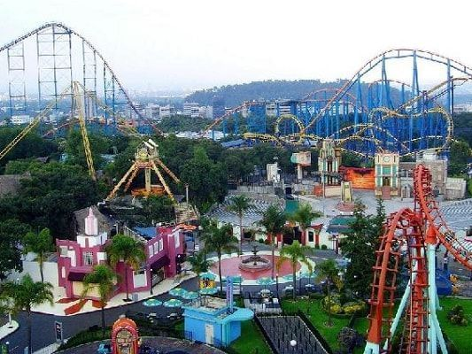 Six Flags at Marquis Reforma