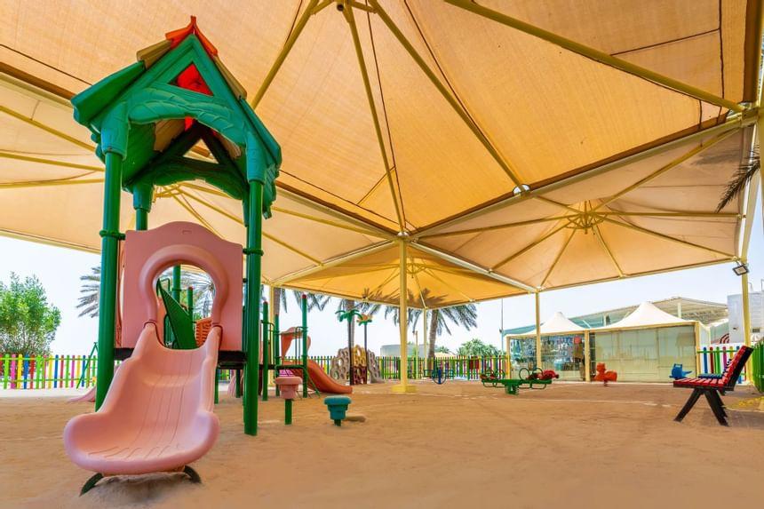 Children´s playground in Sealine Beach Resort