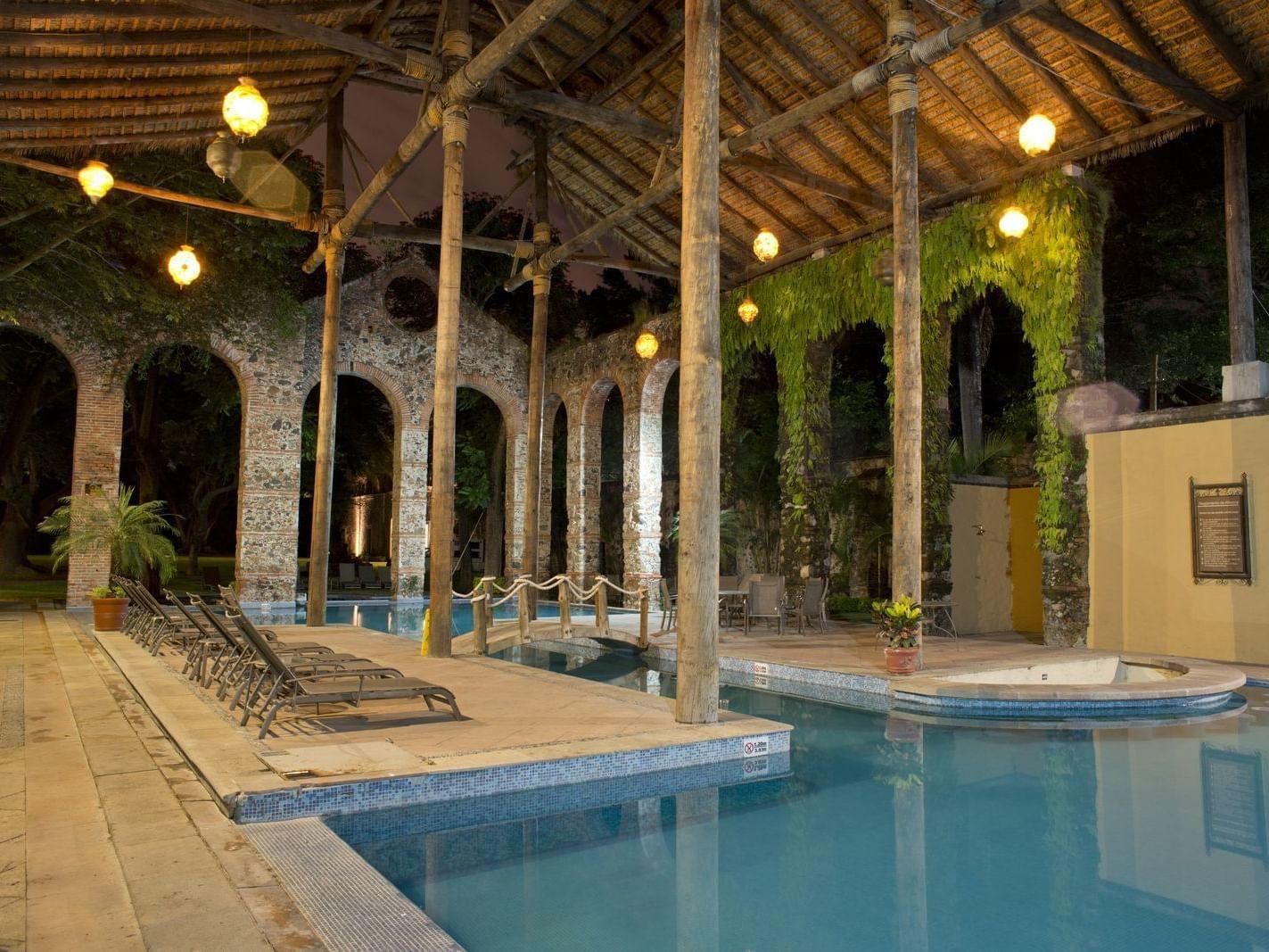 Bicnetenario Pool at Grand Fiesta Americana Resort