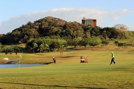 Golf Course and Hotel