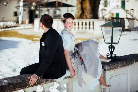 Hochzeit im Schloss Pichlarn im Frühjahr