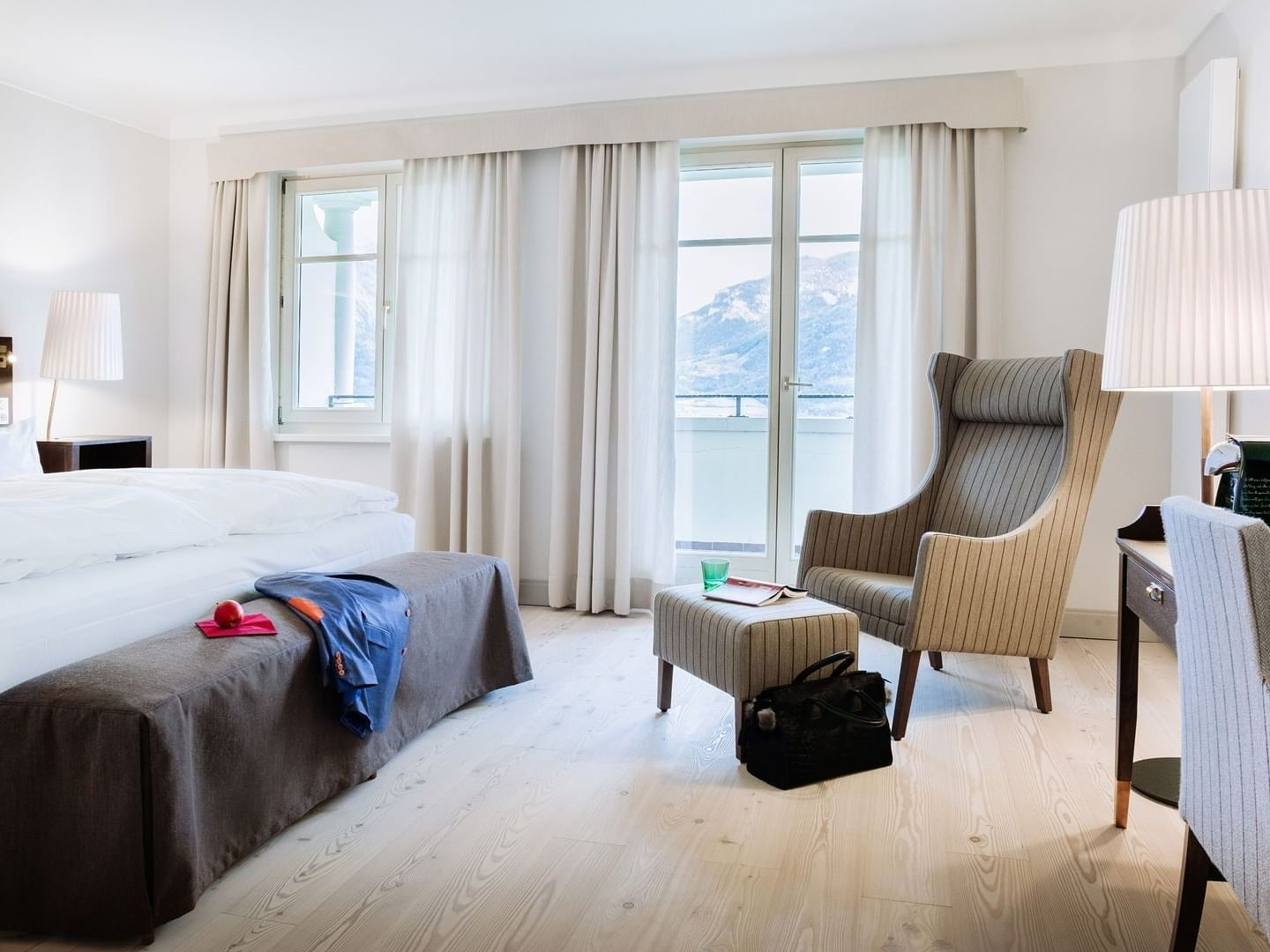 Double Room Deluxe with Balcony at Schloss Pichlarn Hotel