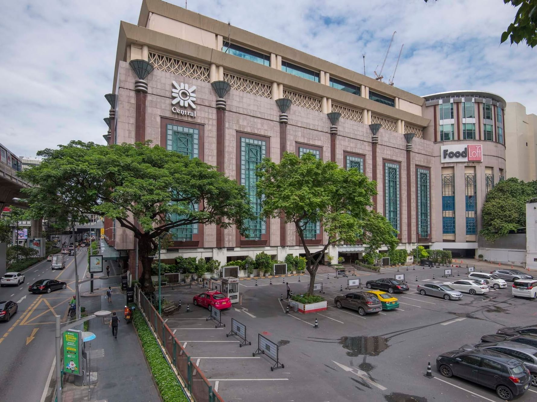 Central Chidlom near the Chatrium Hotel Riverside Bangkok