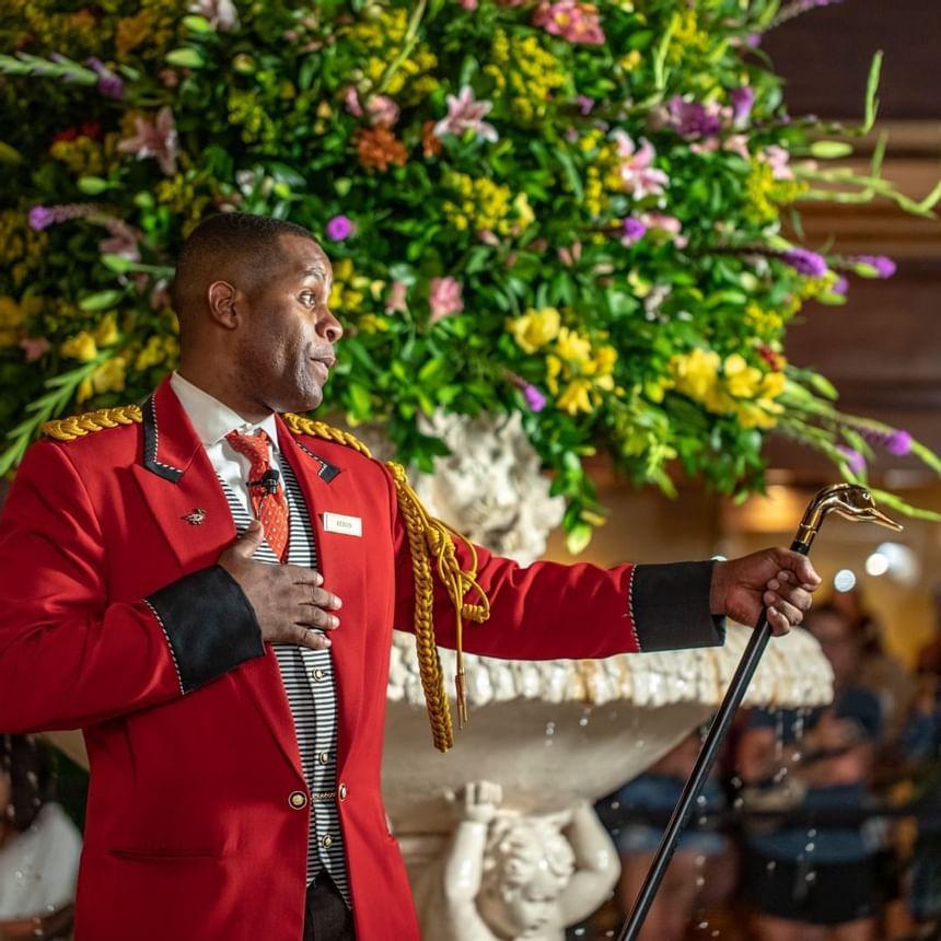 Caretaker of Peabody Ducks in 2021 at Peabody Hotels & Resorts