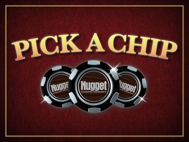 Pick A Chip Check Cashing Promo Logo