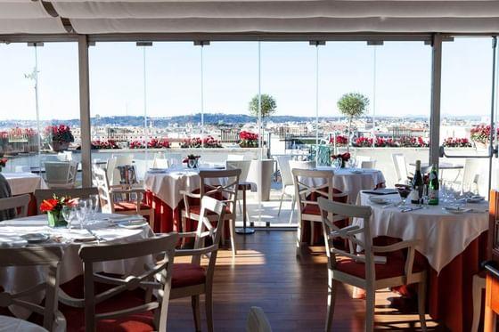 Roof Garden Restaurant_1 Hotel Atlantico
