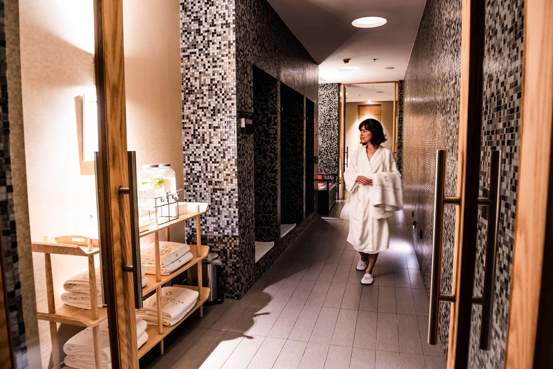 SPA and facilities Santiago Hotel