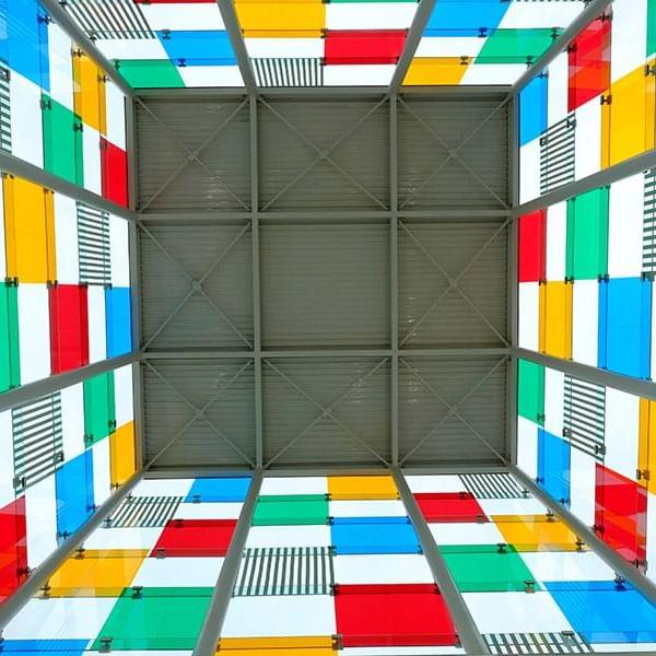 Centre Pompiduo Malaga Cubo at  Marbella Club