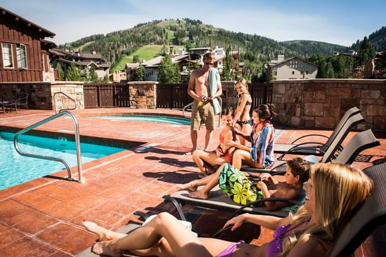 The Chateaux Deer Valley Summer Pool