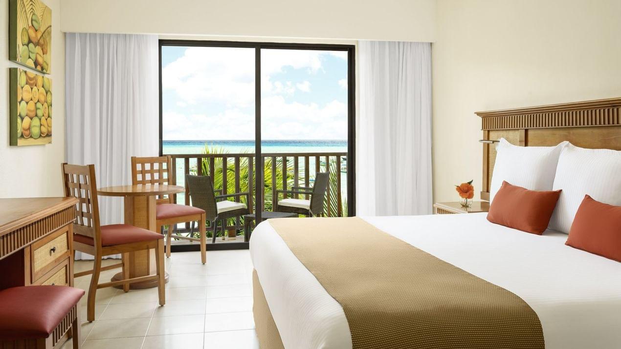 Premium Partial Ocean View Room at The Reef Coco Beach