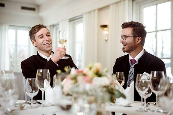 LGBT Hochzeit im Schloss Pichlarn