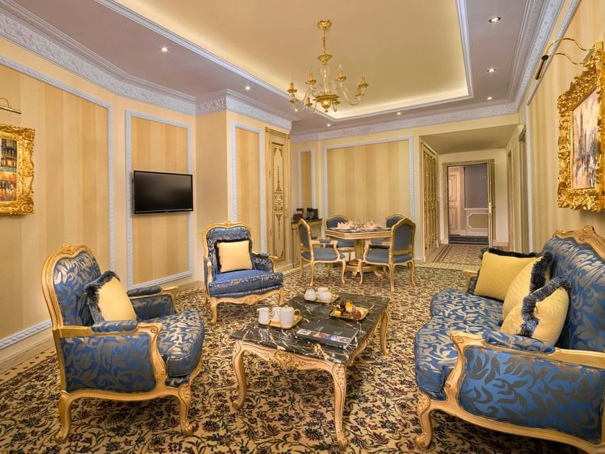جناح روز في فندق رويال روز في أبو ظبي، الإمارات العربية المتحدة